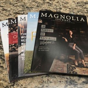 Magnolia Journal - 5 Issues LIKE NEW